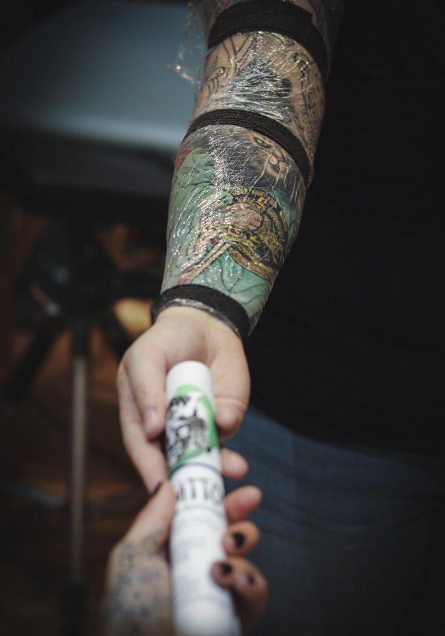 Feuille soin tattoo